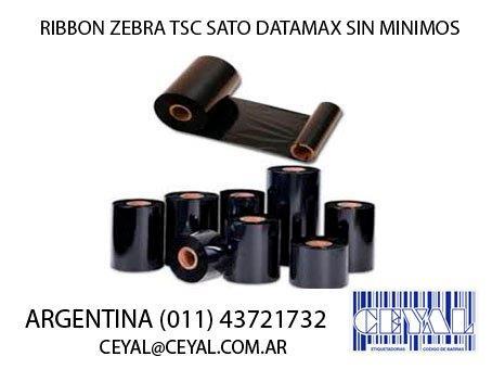 Ribbon para impresora zebra