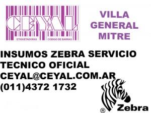 IMPRESORAS ZEBRA ZM400 VILLA GENERAL MITRE