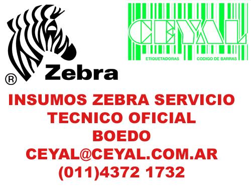 Accesorios Impresoras codigos de barras ZEBRA  tlp 2844