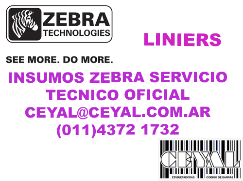 Soporte Zebra etiquetas rollo termico entregamos GBA