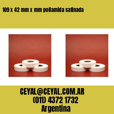 Thumbnail de 109 x 42 mm x mm poliamida satinada