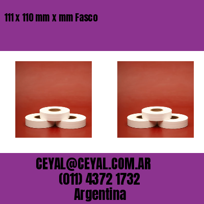 Thumbnail de 111 x 110 mm x mm Fasco
