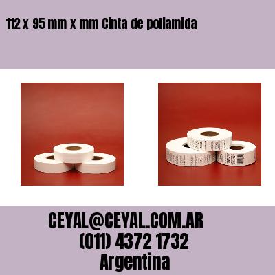 Thumbnail de 112 x 95 mm x mm Cinta de poliamida