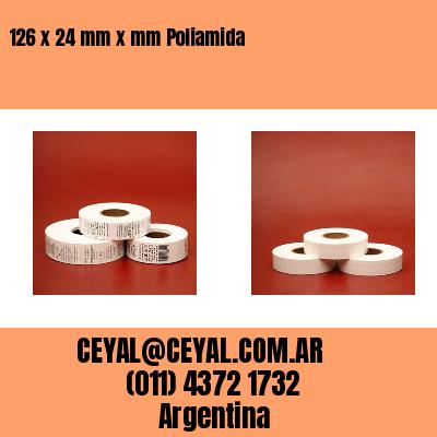 Thumbnail de 126 x 24 mm x mm Poliamida