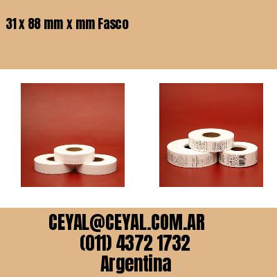 Thumbnail de 31 x 88 mm x mm Fasco