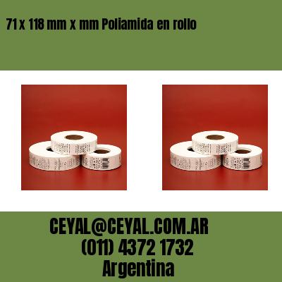 Thumbnail de 71 x 118 mm x mm Poliamida en rollo