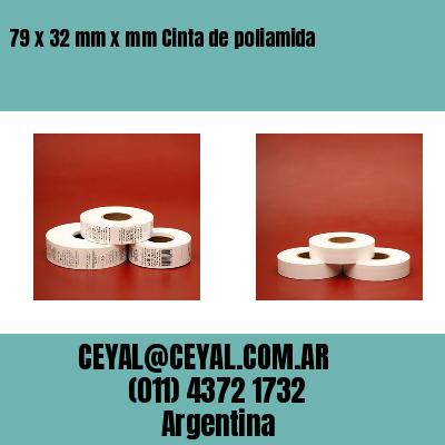 Thumbnail de 79 x 32 mm x mm Cinta de poliamida