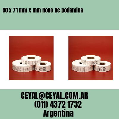 Thumbnail de 90 x 71 mm x mm Rollo de poliamida