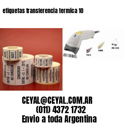 etiquetas transferencia termica 10