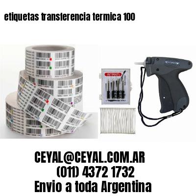 etiquetas transferencia termica 100