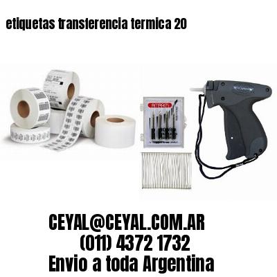 etiquetas transferencia termica 20
