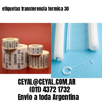 etiquetas transferencia termica 30