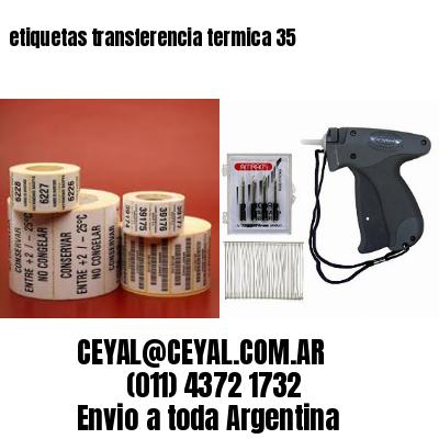 etiquetas transferencia termica 35