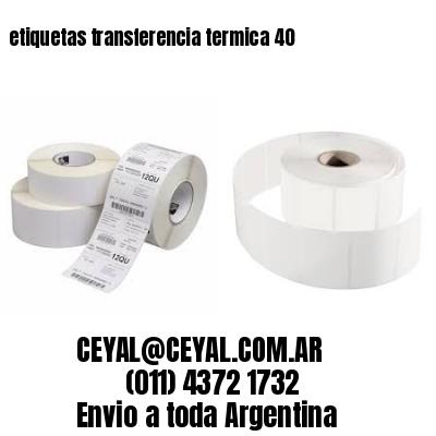 etiquetas transferencia termica 40