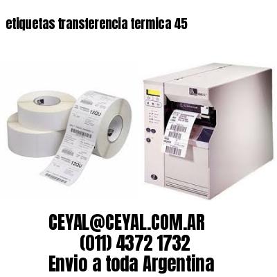 etiquetas transferencia termica 45