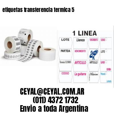 etiquetas transferencia termica 5