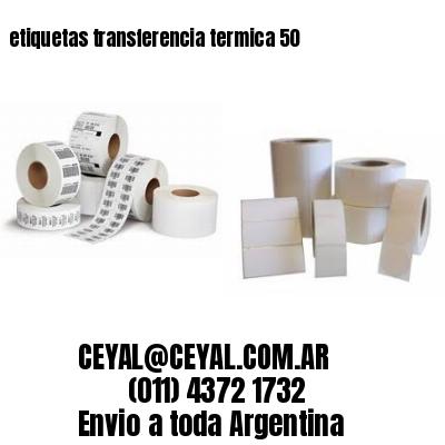 etiquetas transferencia termica 50