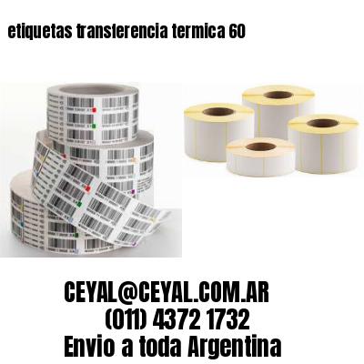 etiquetas transferencia termica 60