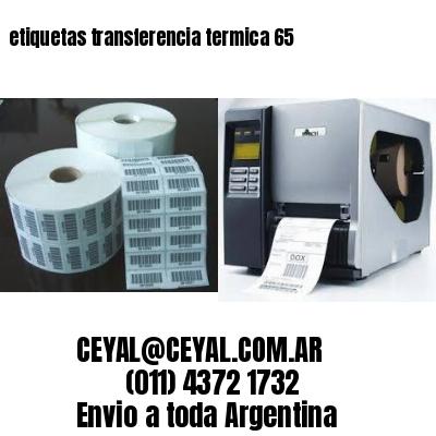 etiquetas transferencia termica 65