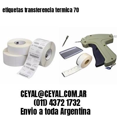 etiquetas transferencia termica 70