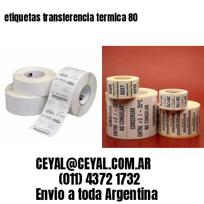 etiquetas transferencia termica 80