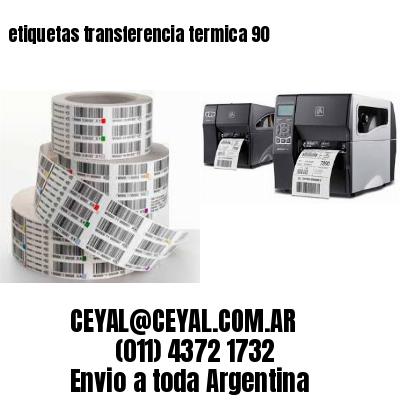 etiquetas transferencia termica 90
