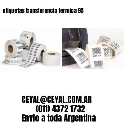 etiquetas transferencia termica 95