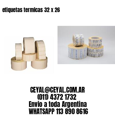 etiquetas termicas 32 x 26