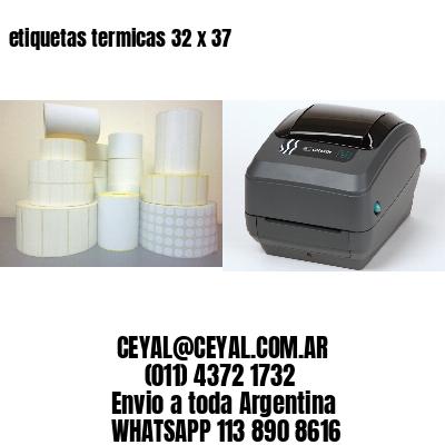 etiquetas termicas 32 x 37