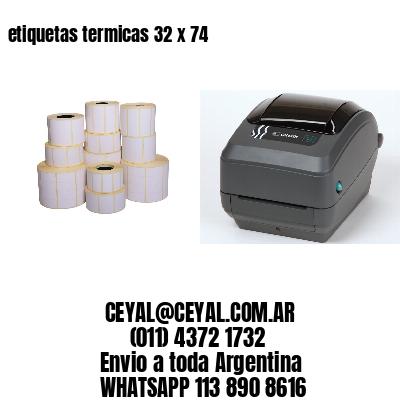 etiquetas termicas 32 x 74