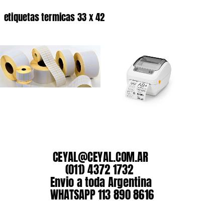 etiquetas termicas 33 x 42