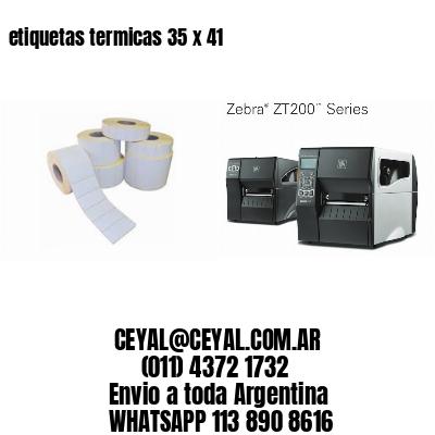 etiquetas termicas 35 x 41