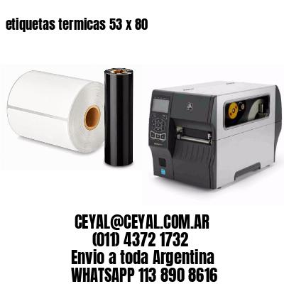 etiquetas termicas 53 x 80