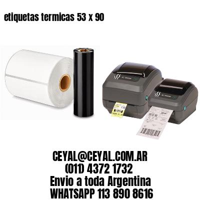 etiquetas termicas 53 x 90