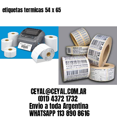 etiquetas termicas 54 x 65
