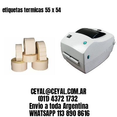 etiquetas termicas 55 x 54