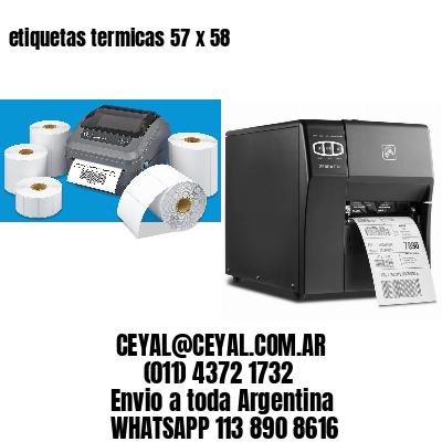 etiquetas termicas 57 x 58