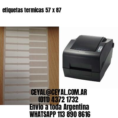 etiquetas termicas 57 x 87