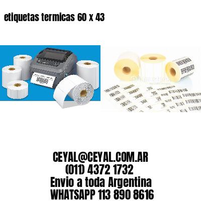 etiquetas termicas 60 x 43
