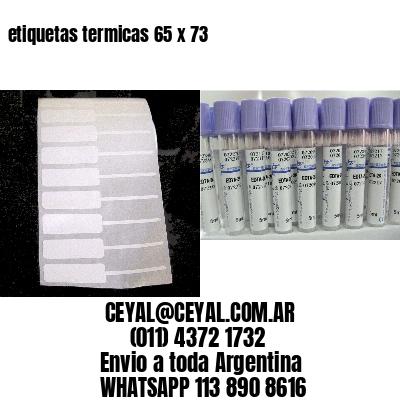etiquetas termicas 65 x 73