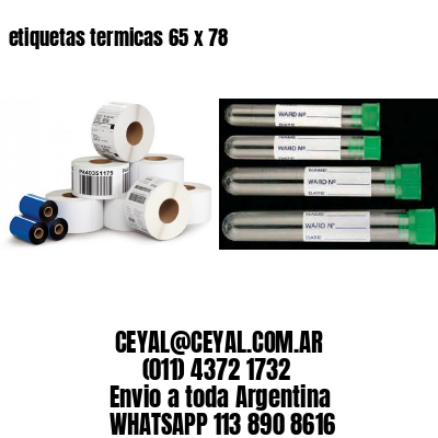 etiquetas termicas 65 x 78