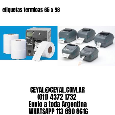etiquetas termicas 65 x 98