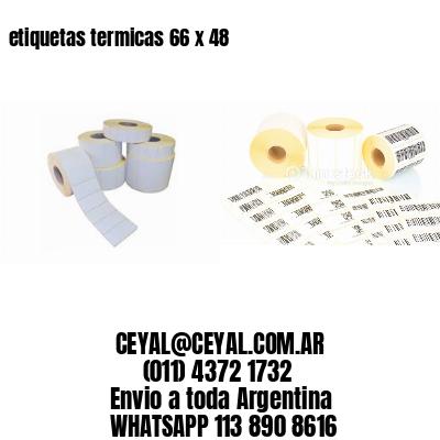 etiquetas termicas 66 x 48