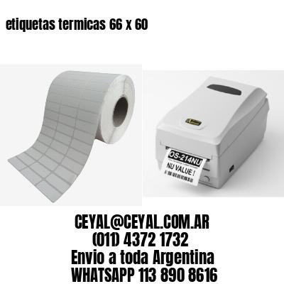 etiquetas termicas 66 x 60
