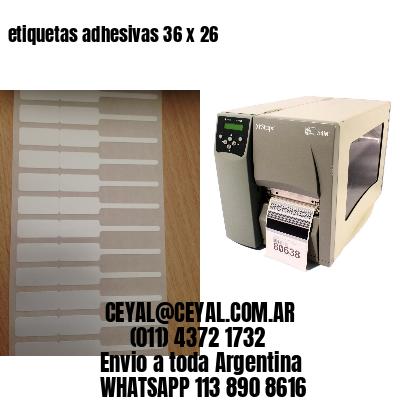 etiquetas adhesivas 36 x 26