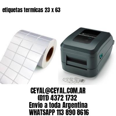 etiquetas termicas 23 x 63