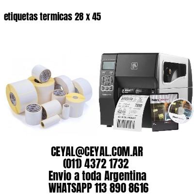 etiquetas termicas 28 x 45