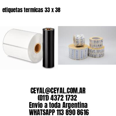 etiquetas termicas 33 x 38