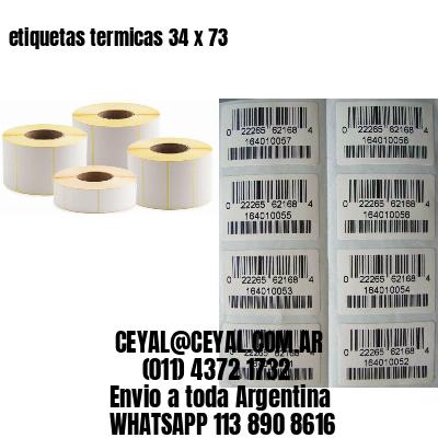 etiquetas termicas 34 x 73