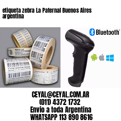 etiqueta zebra La Paternal Buenos Aires argentina
